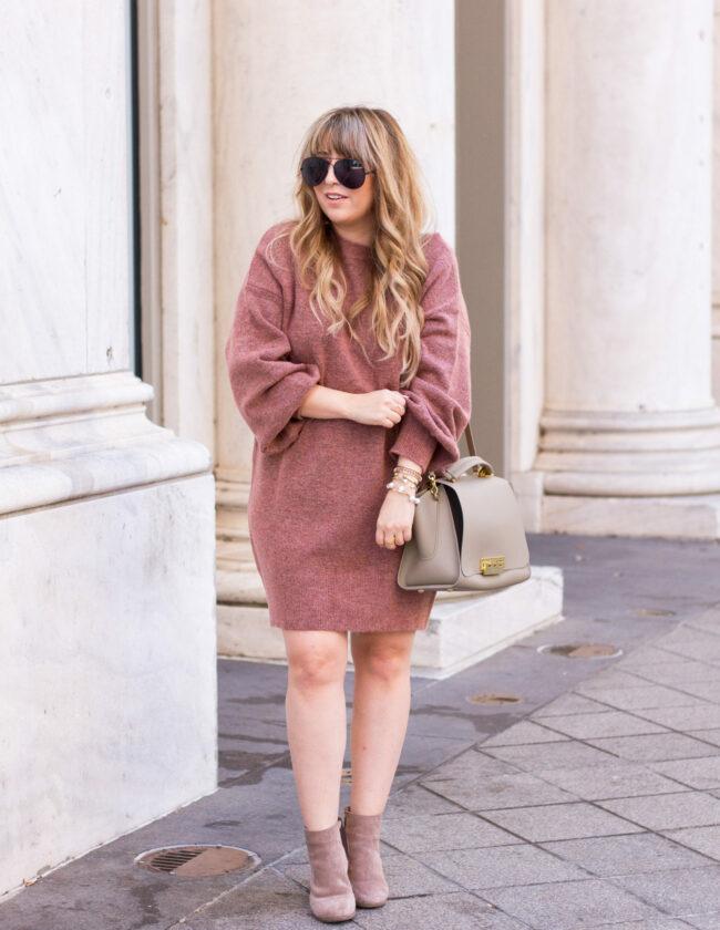 Topshop sweaterdress
