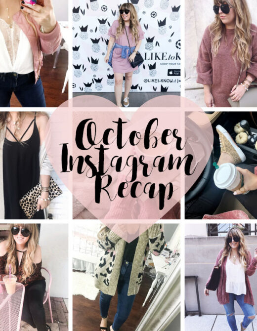 October 2017 Instagram Roundup