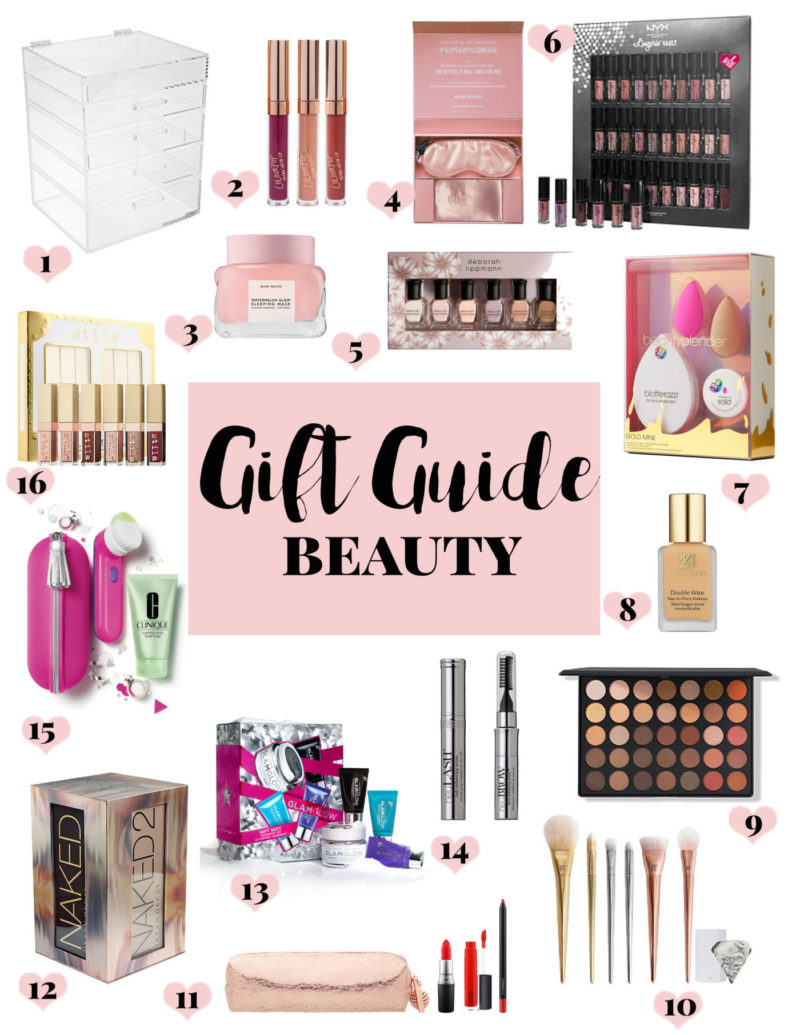 Gift Guide: beauty gift ideas for holiday