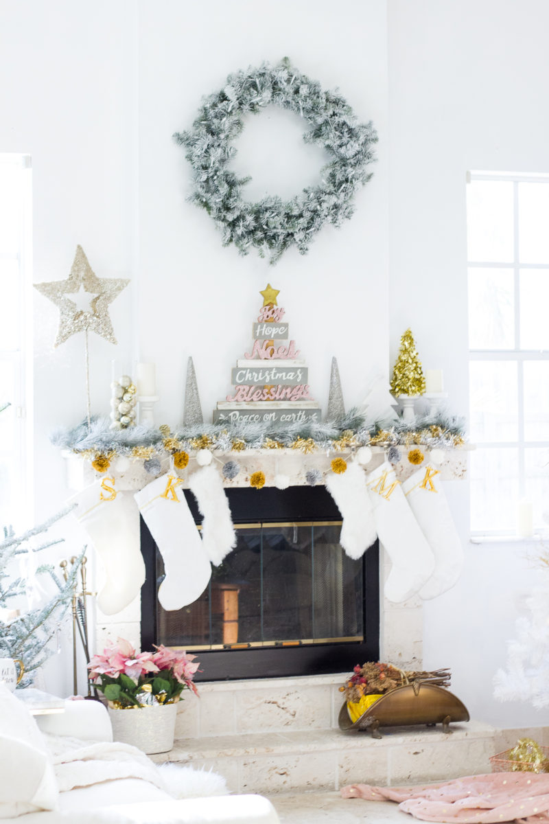 Holiday fireplace ideas