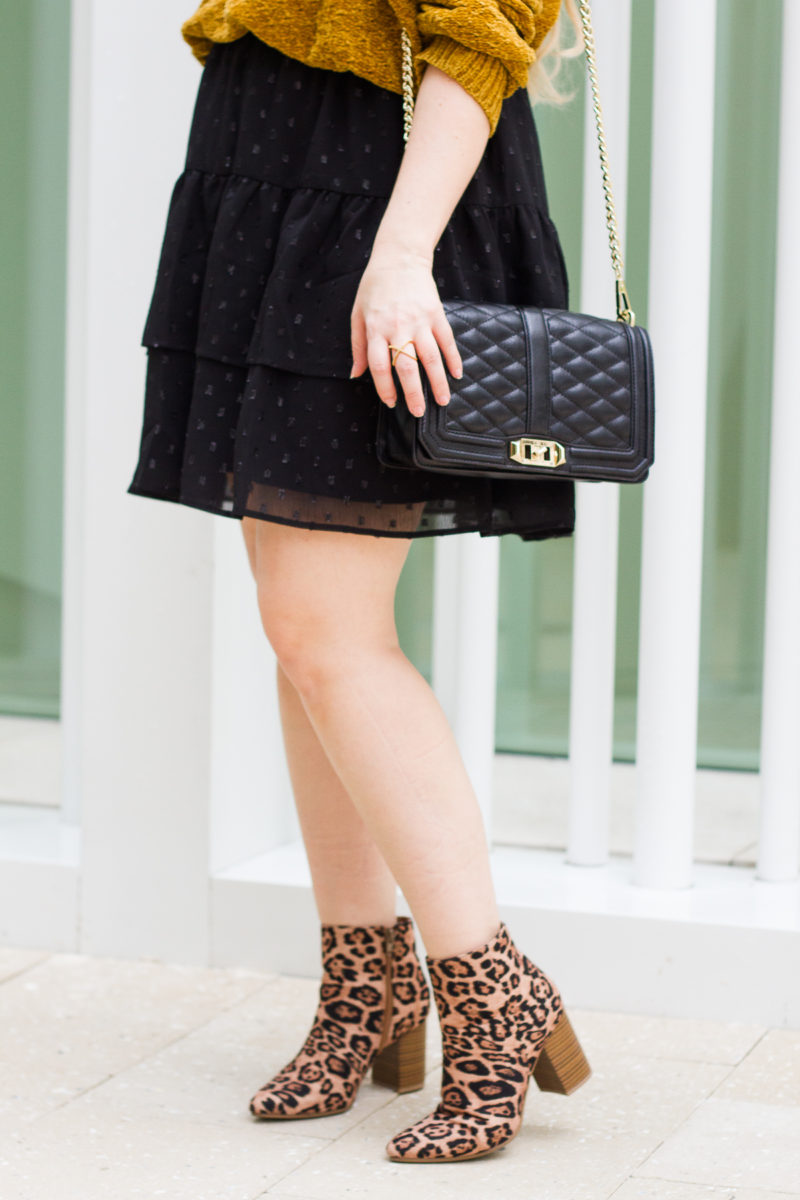 Cute affordable leopard booties
