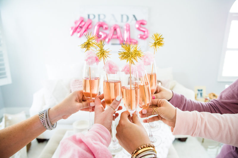 How to throw a Galentine's Day party: rose