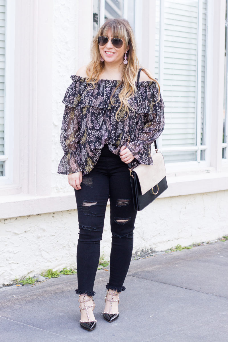 Casual jeans outfit idea