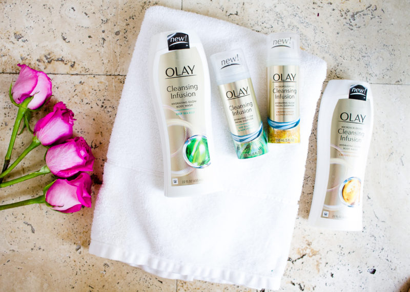 Olay Glow Up: Olay Cleansing Infusions