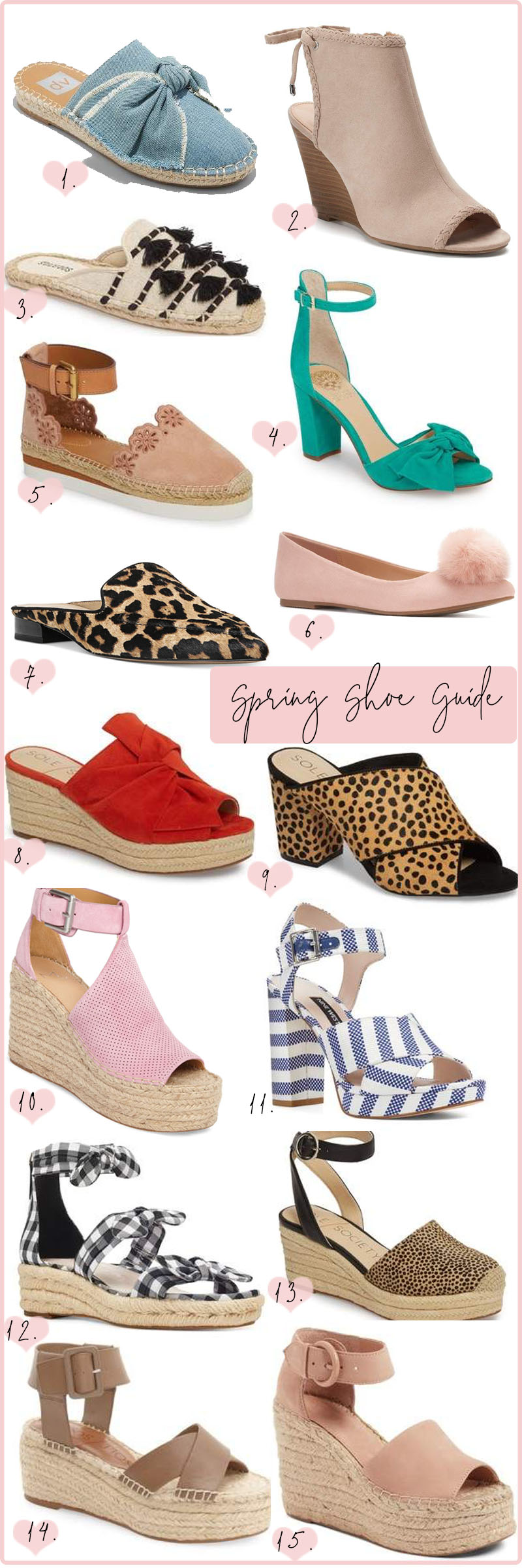 Spring Shoe Guide
