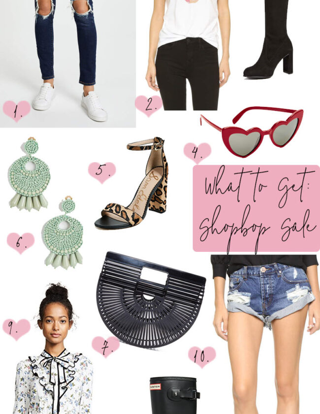 What to buy from the Shopbop sale