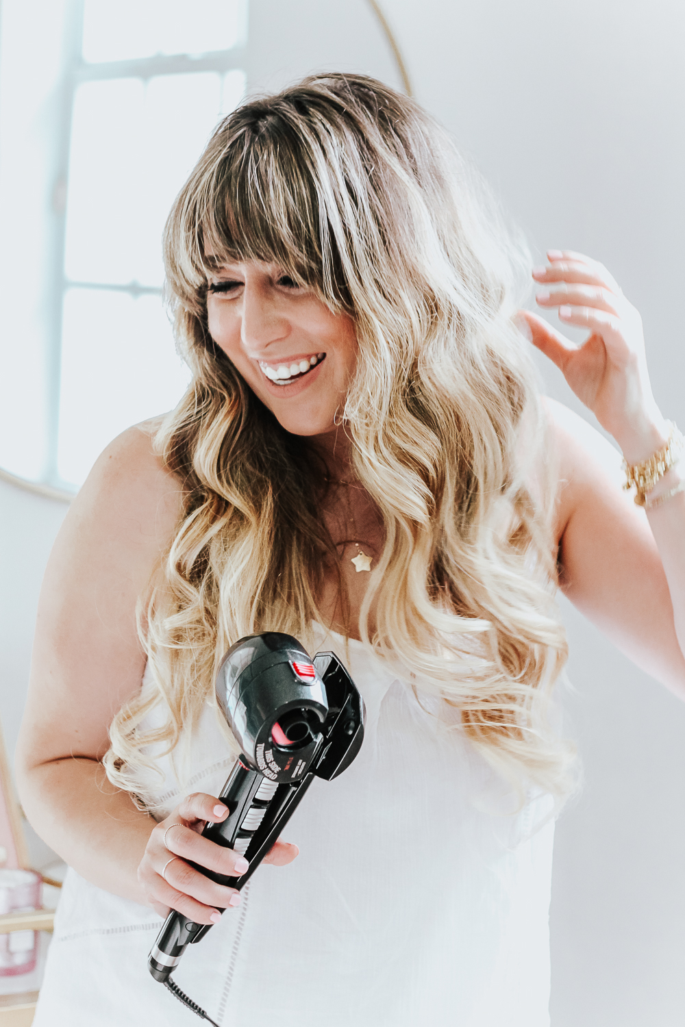 How to get easy beach waves with the Conair Infiniti Pro Curl Secret 2-3