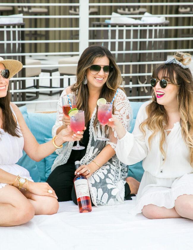 rosé cocktails, rosé cocktail ideas, Dona Paula rosé, rosé of Malbec
