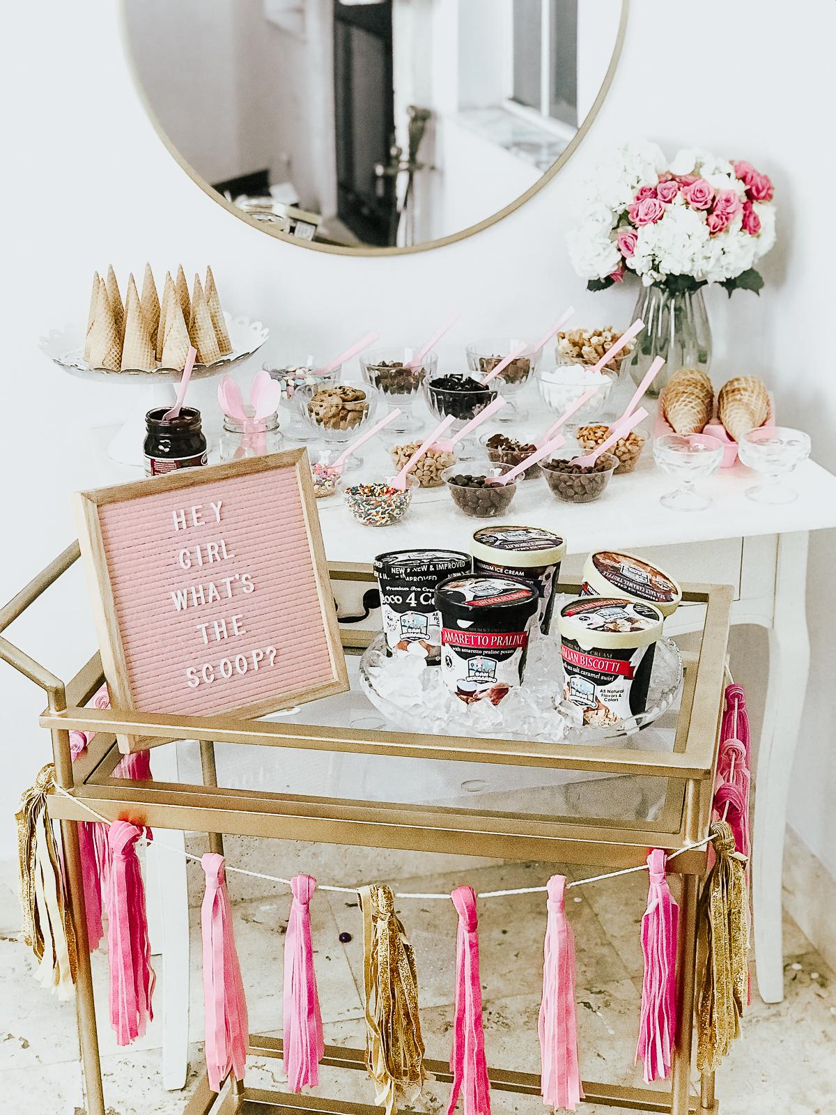 How to Set Up a DIY Ice Cream Bar- San Bernardo Ice Cream
