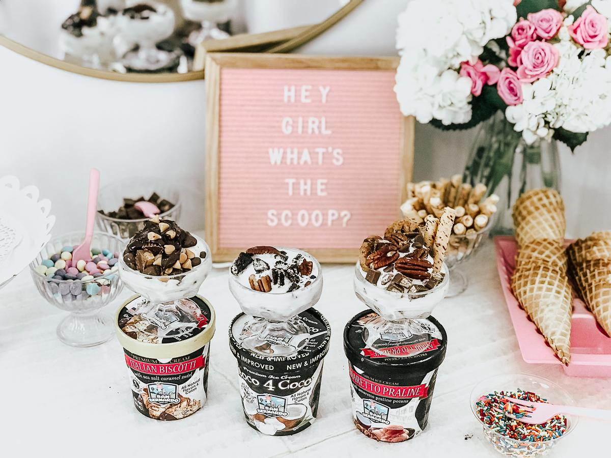 How to Set Up an Ice Cream Bar- San Bernardo Ice Cream-22