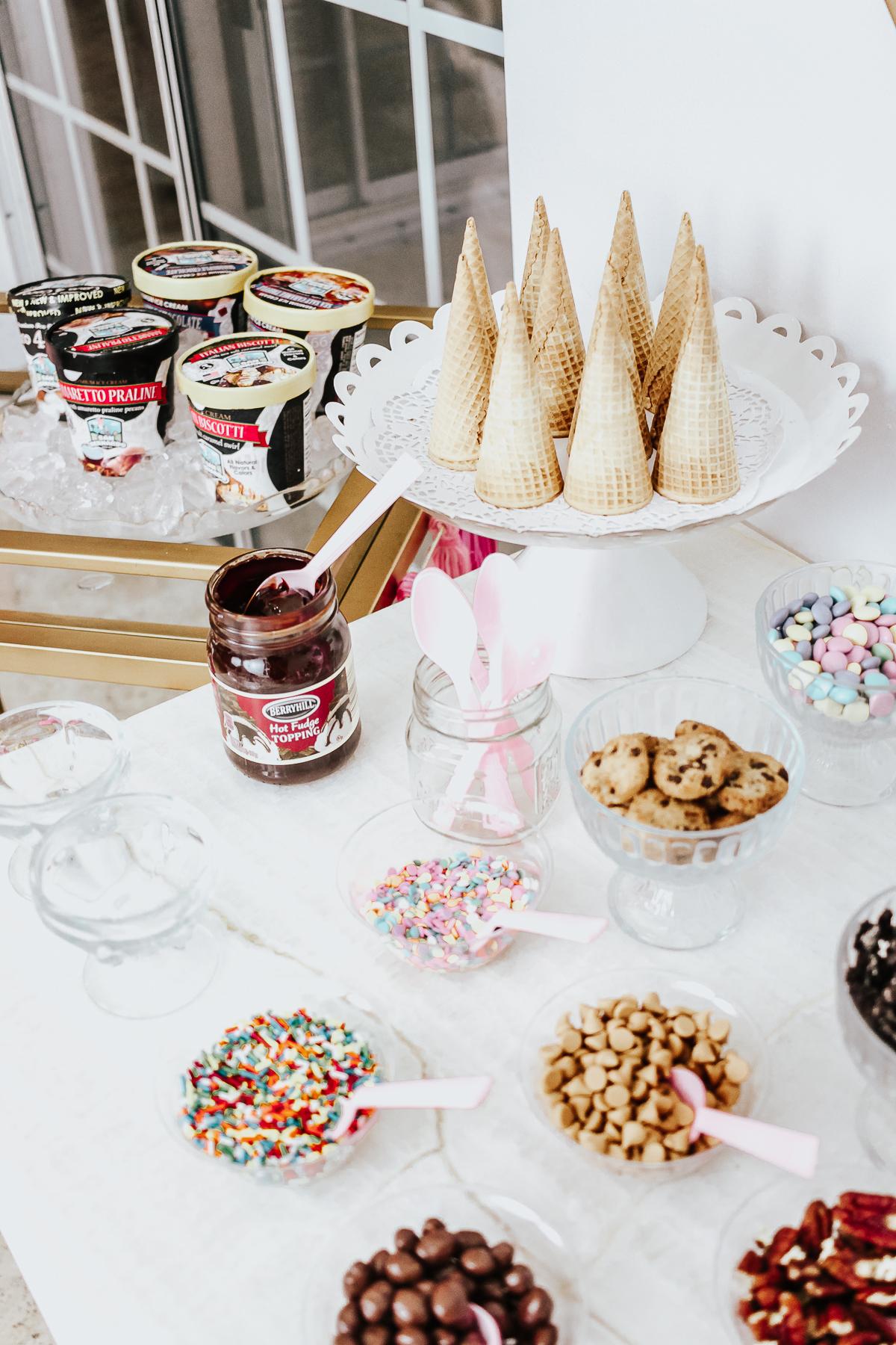 How to Set Up an Ice Cream Bar- San Bernardo Ice Cream-4