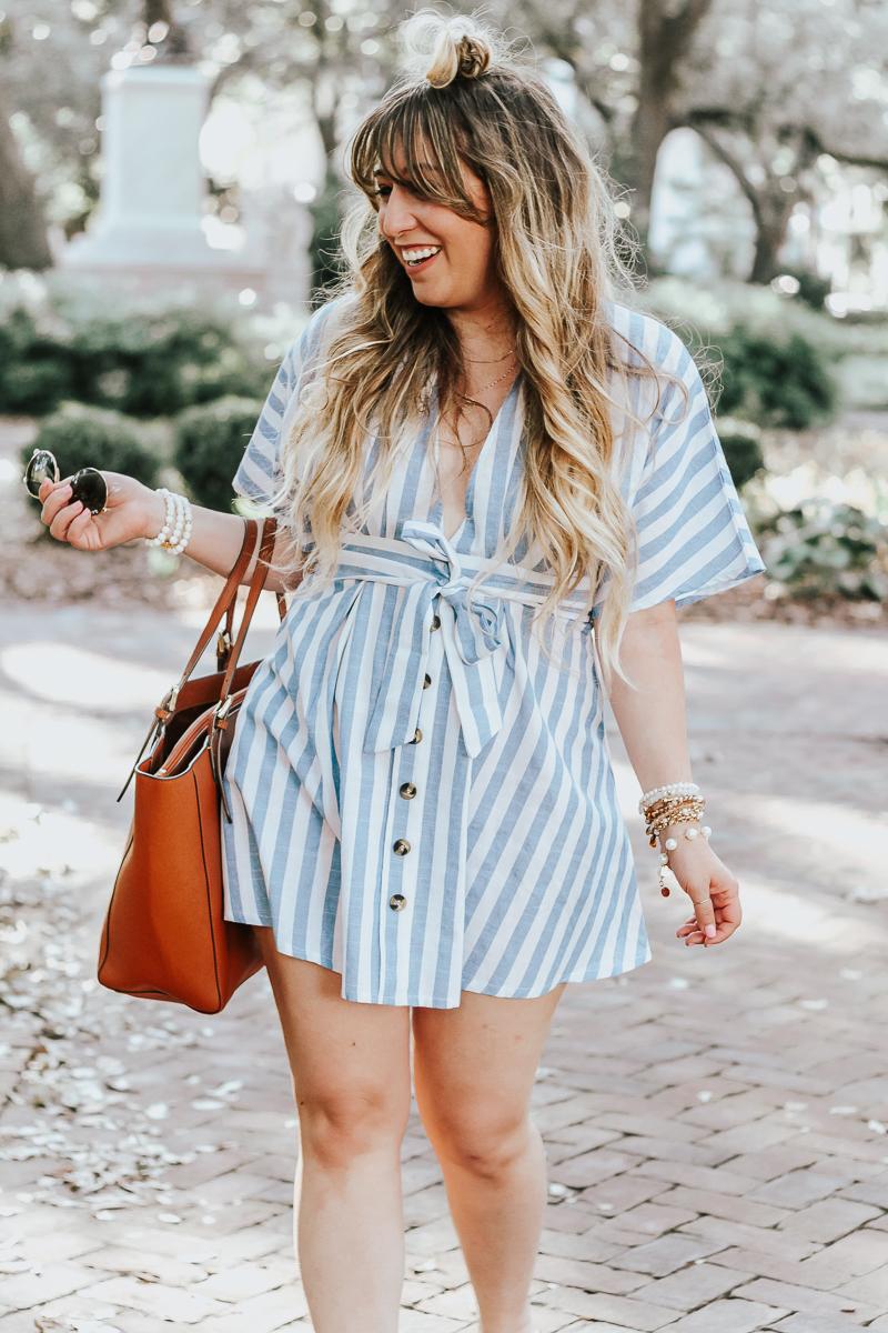 Shein-blue-and-white-stripe-dress-14