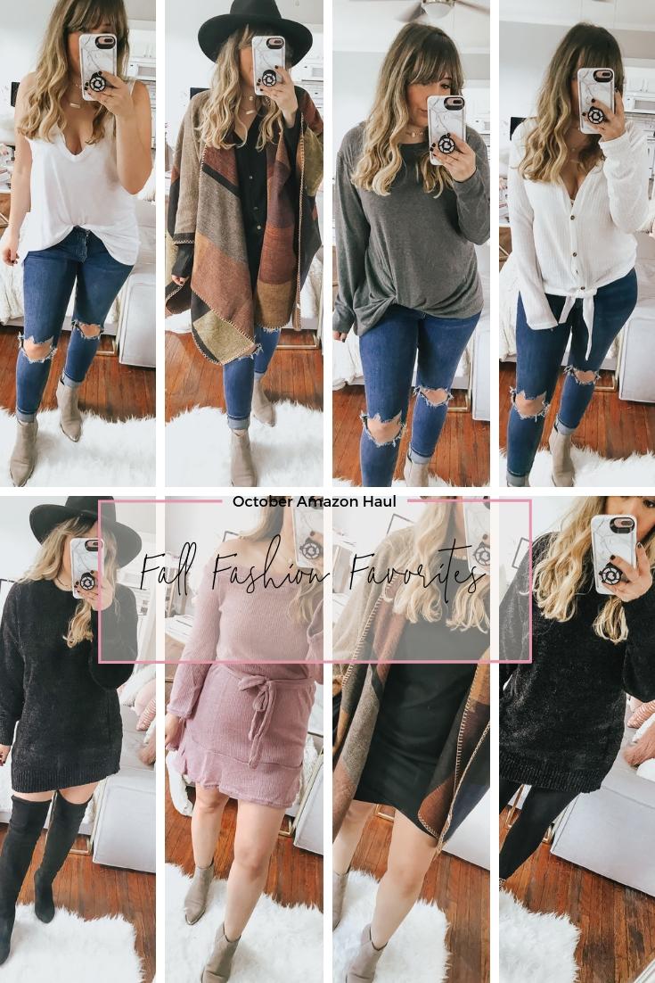October Amazon Haul – Fall Fashion Favorites from Amazon