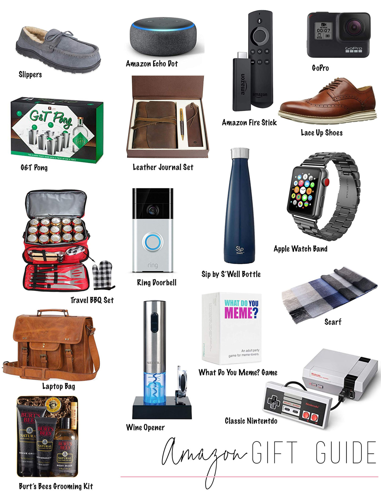Holiday Gift Guide 2018 – Amazon Gift Guide for Men