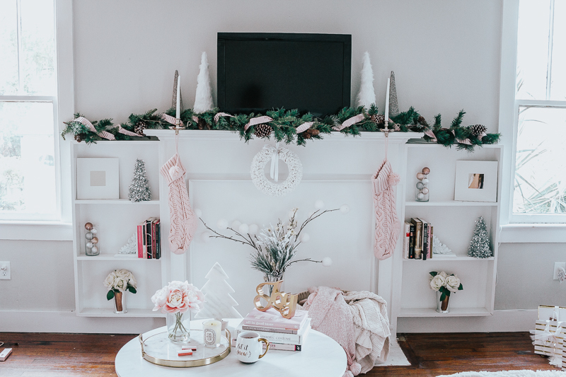 Holiday Home Tour- Glam Holiday Living Room-12