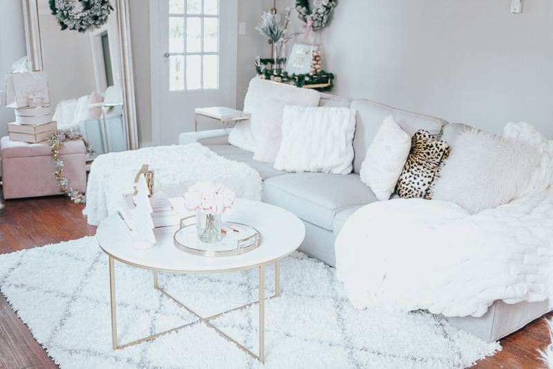 Holiday Home Tour- Glam Holiday Living Room-30