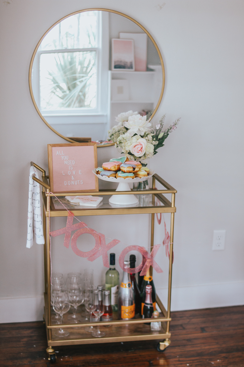 Valentine's Day Home Decor – a Sparkle Factor Stephanie Pernas-19