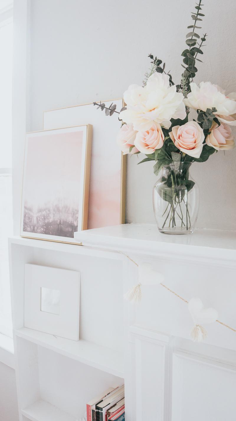 Valentine's Day Home Decor – a Sparkle Factor Stephanie Pernas-6
