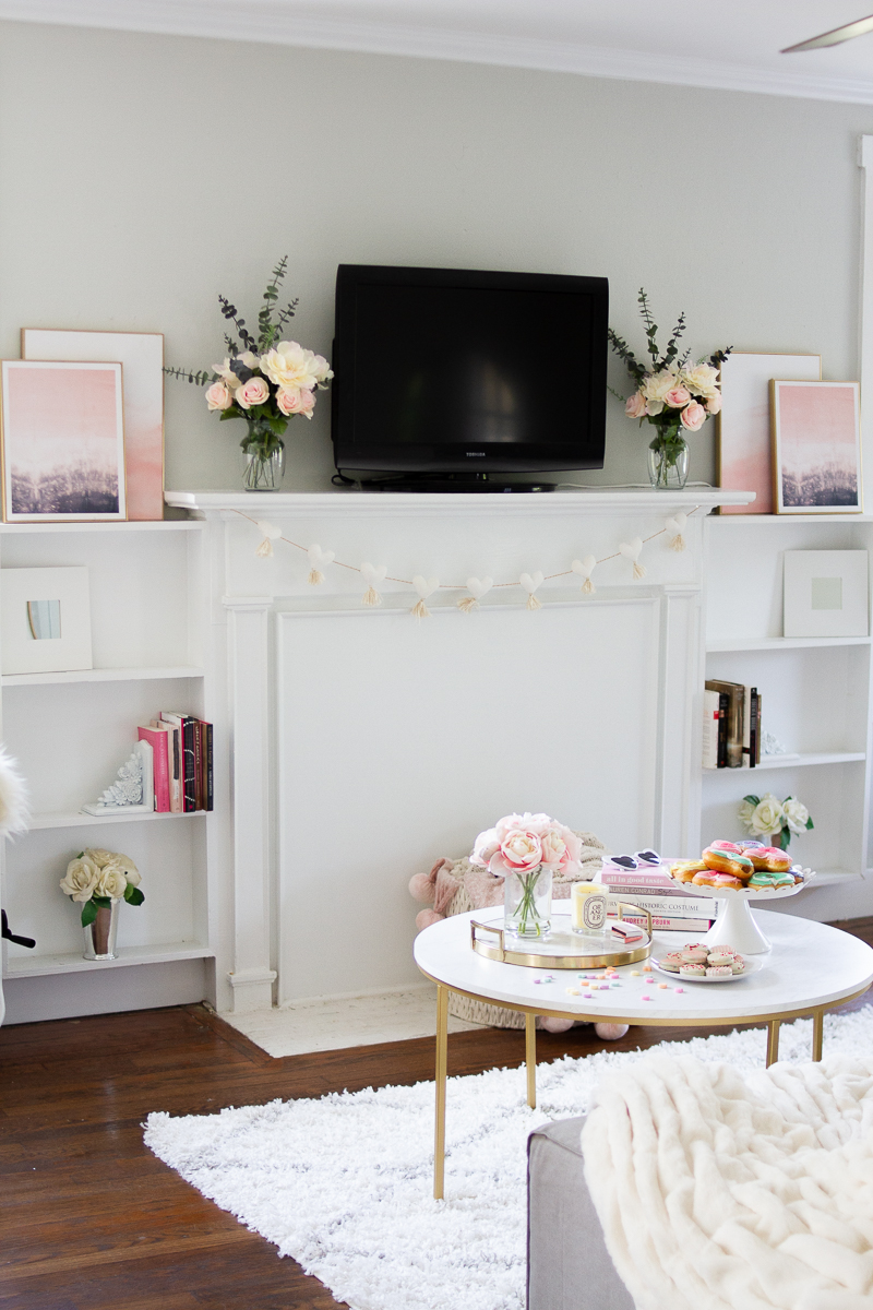Valentine's Day Home Decor – a Sparkle Factor Stephanie Pernas-7