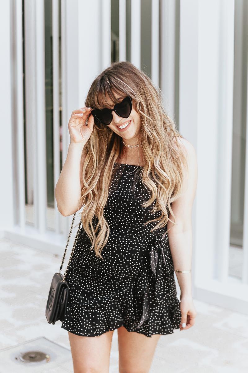 Amazon polka dot dress-11