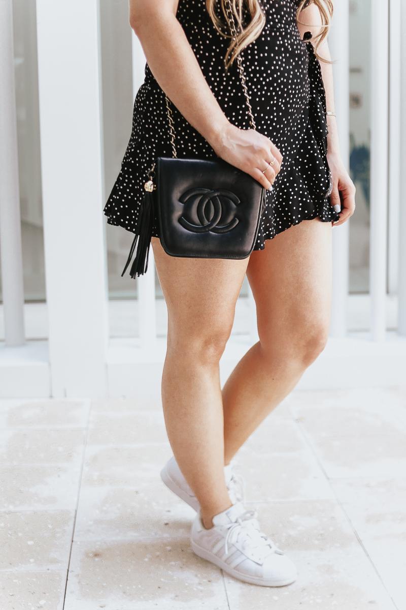 Amazon polka dot dress-14