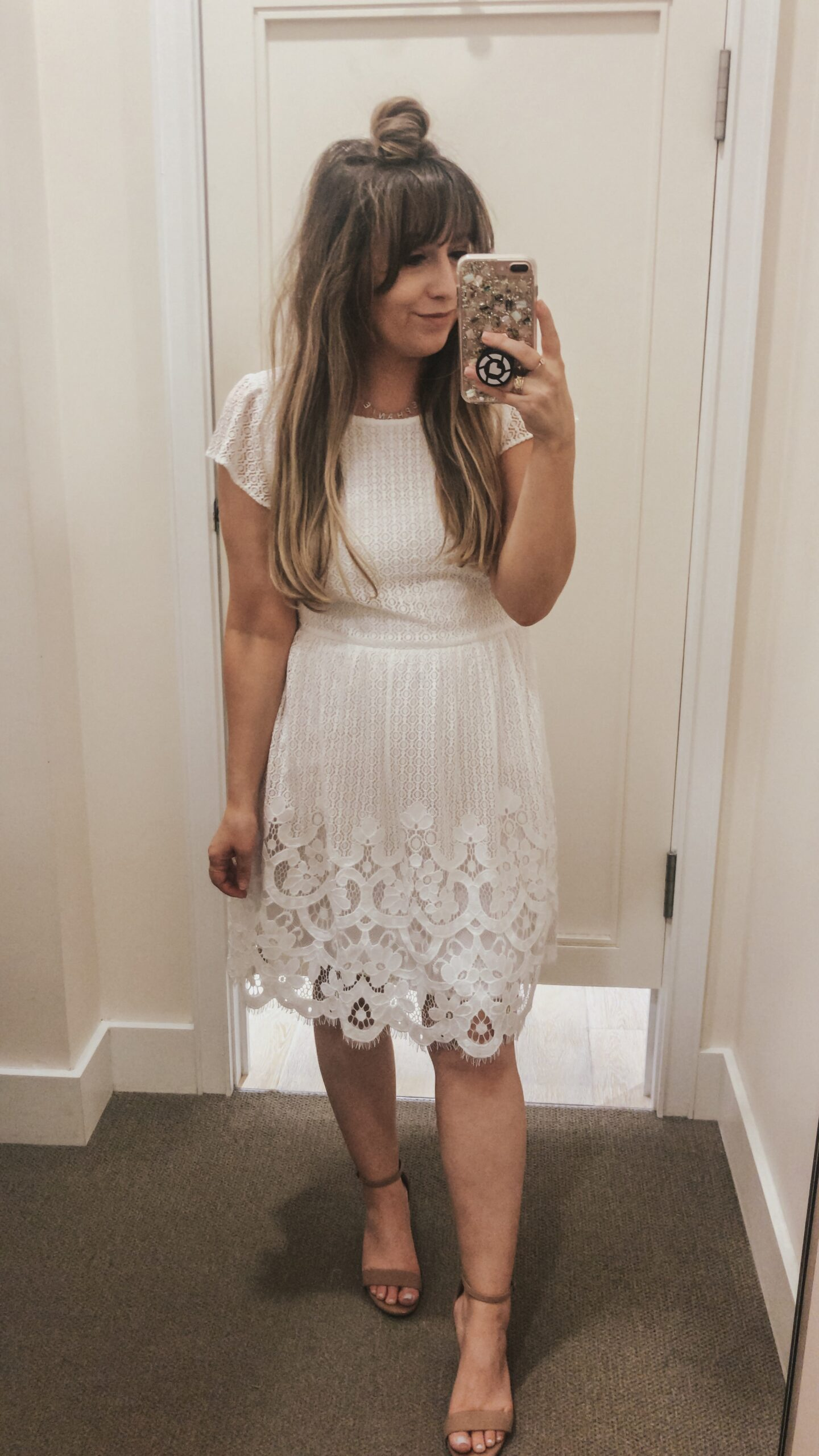 LOFT Spring lace dress