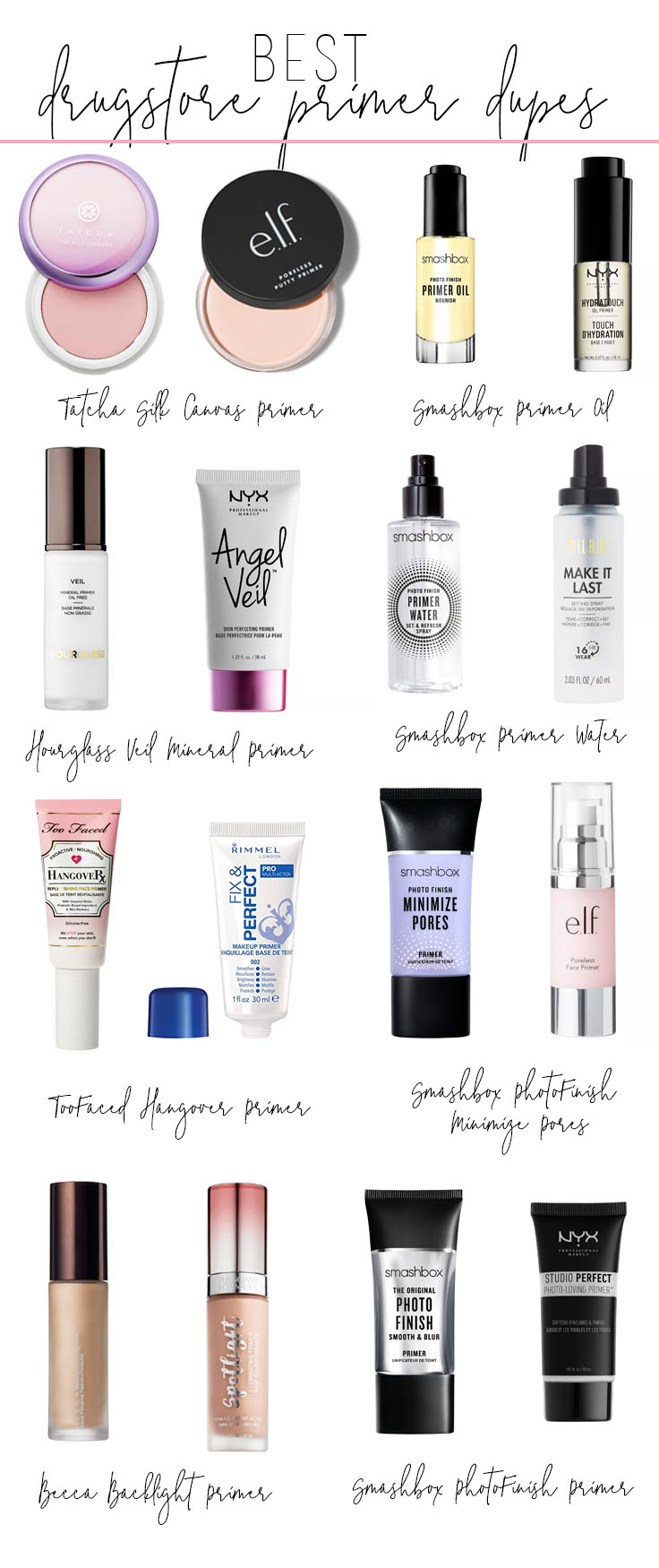 Best-Drugstore-Primer-Dupes-2019