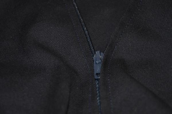 zipper installed