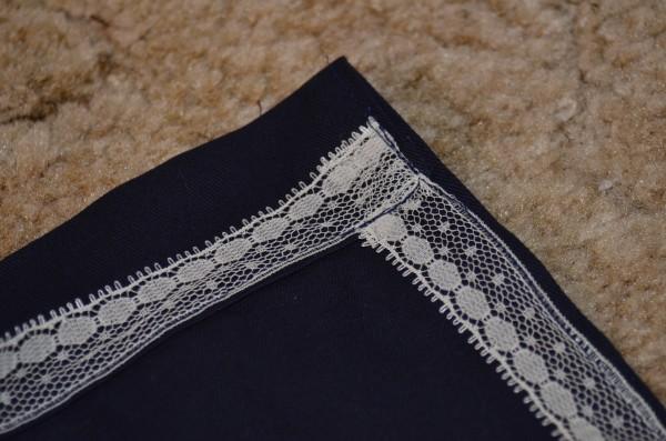 lace seam binding