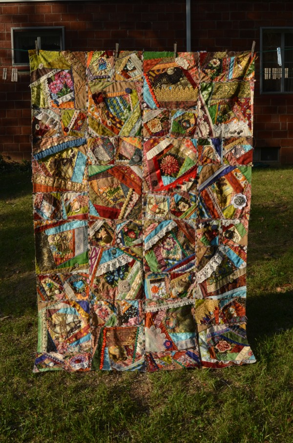 steampunk crazy quilt