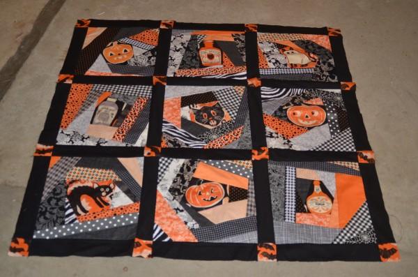 spooktacular quilt top