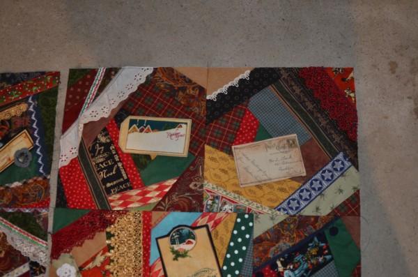 Christmas Crazy Quilt Blocks