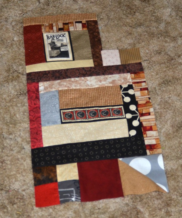 first block piecing communique quilt