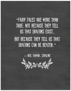 neil gaiman dragons