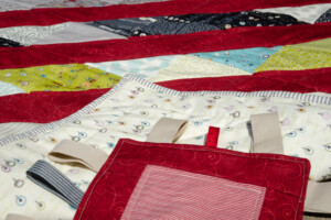 road 15 baby quilt