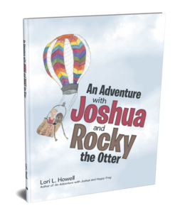 An Adventure With Joshua and Hoppy Frog - Book Cover