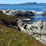 Carmel Scenic Drive overlooking ocean with rock formations below
