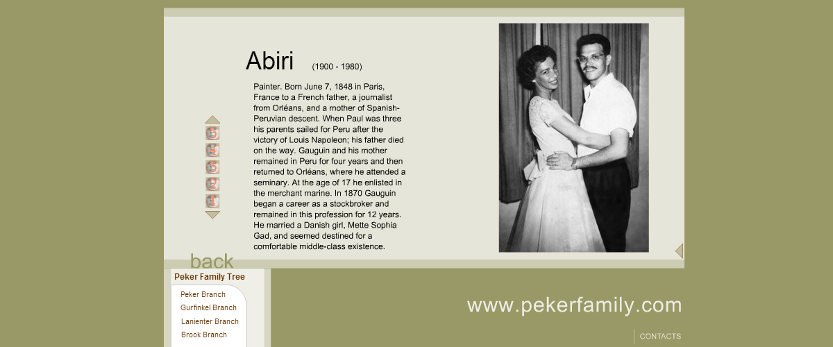 historical_website_design_person_profile_with_photo_gallery