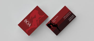 Business Card Clothing Design Firm