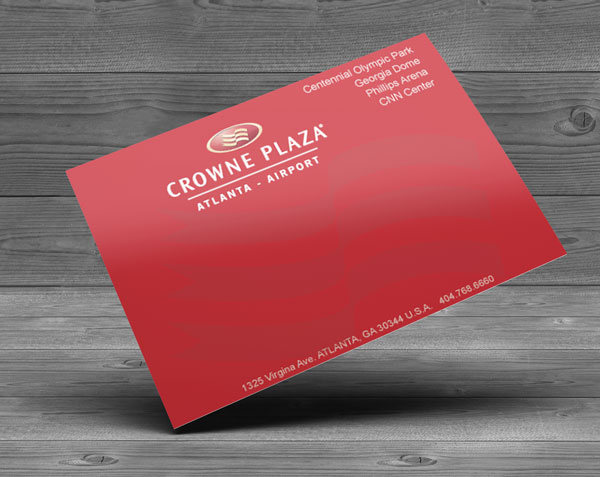 Direct Mail Postcard Design Sample