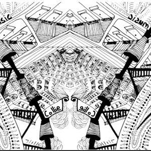 Doodle art by Graphic designer Gary Crossey