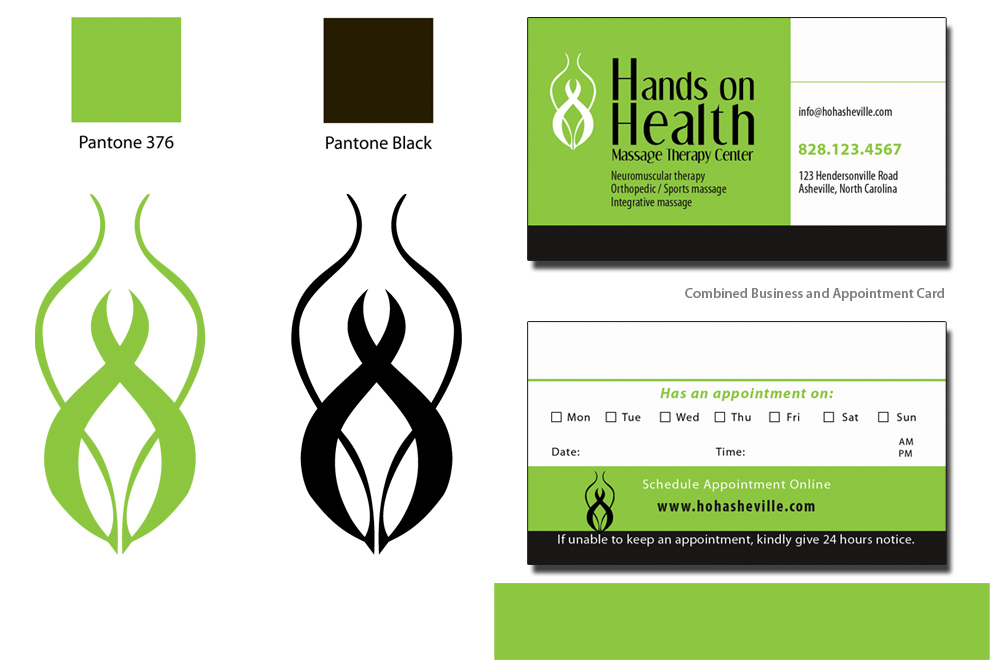 Asheville Branding, Logo Design, and Business Card
