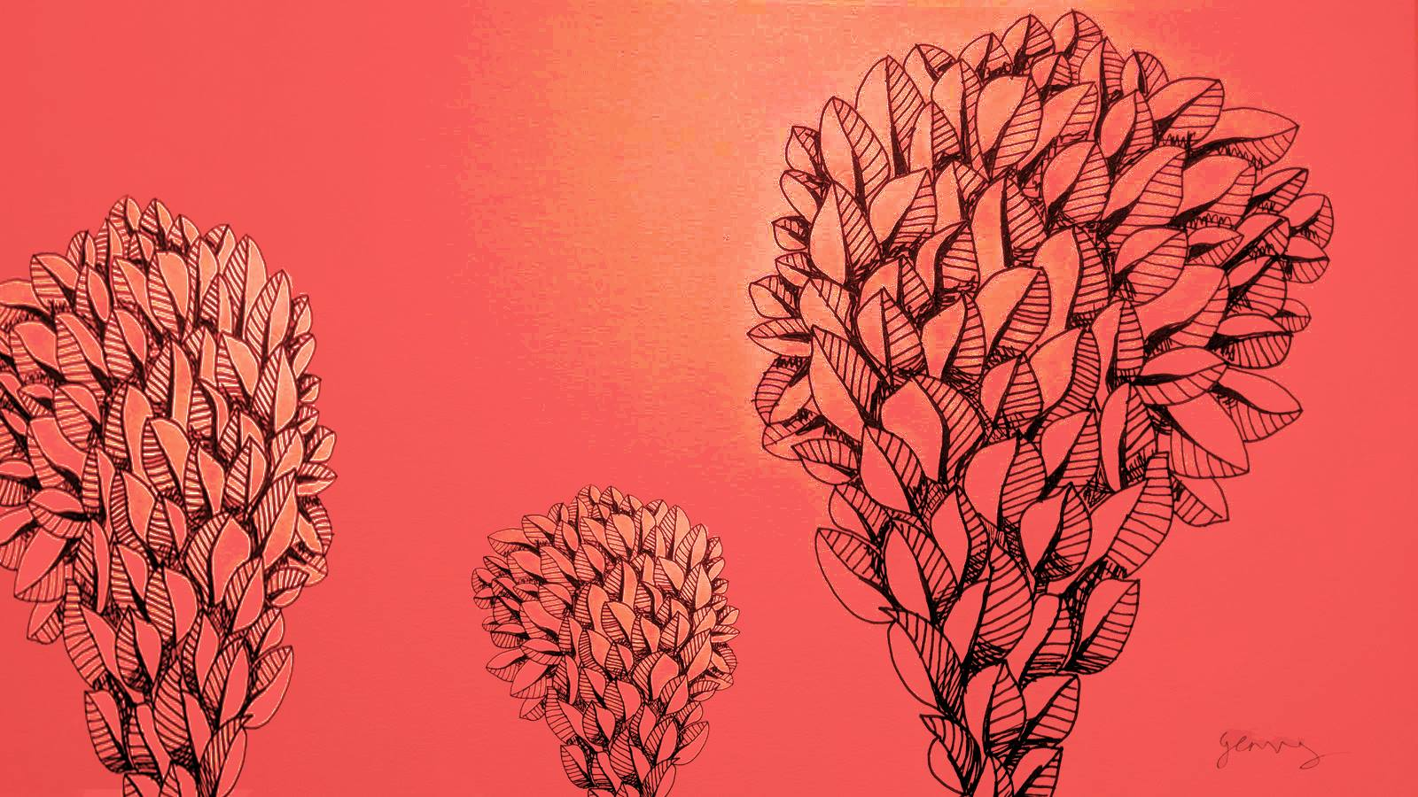 Doodle art work by Gary Crossey