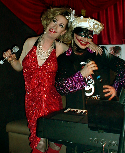 Photographer Gary Crossey Boy George & Bunny