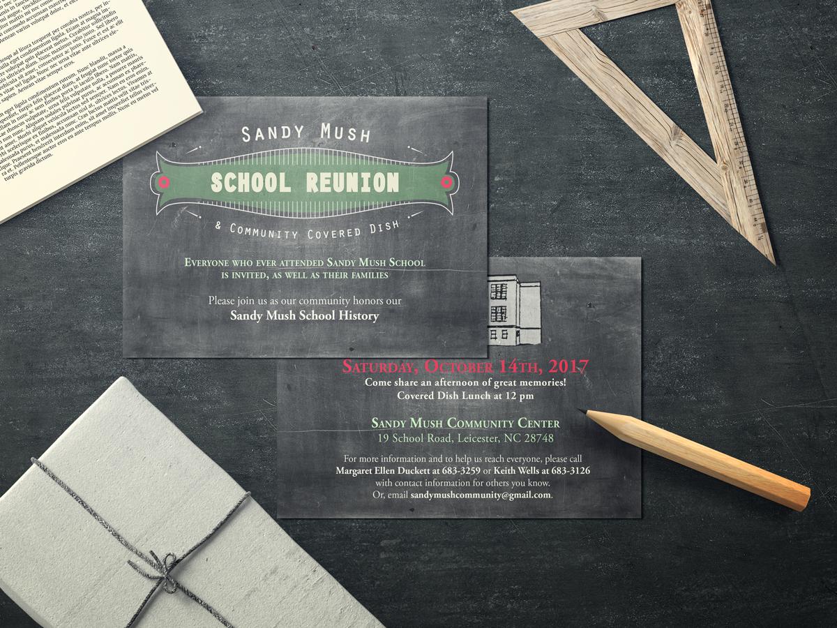 Postcards Invite Design