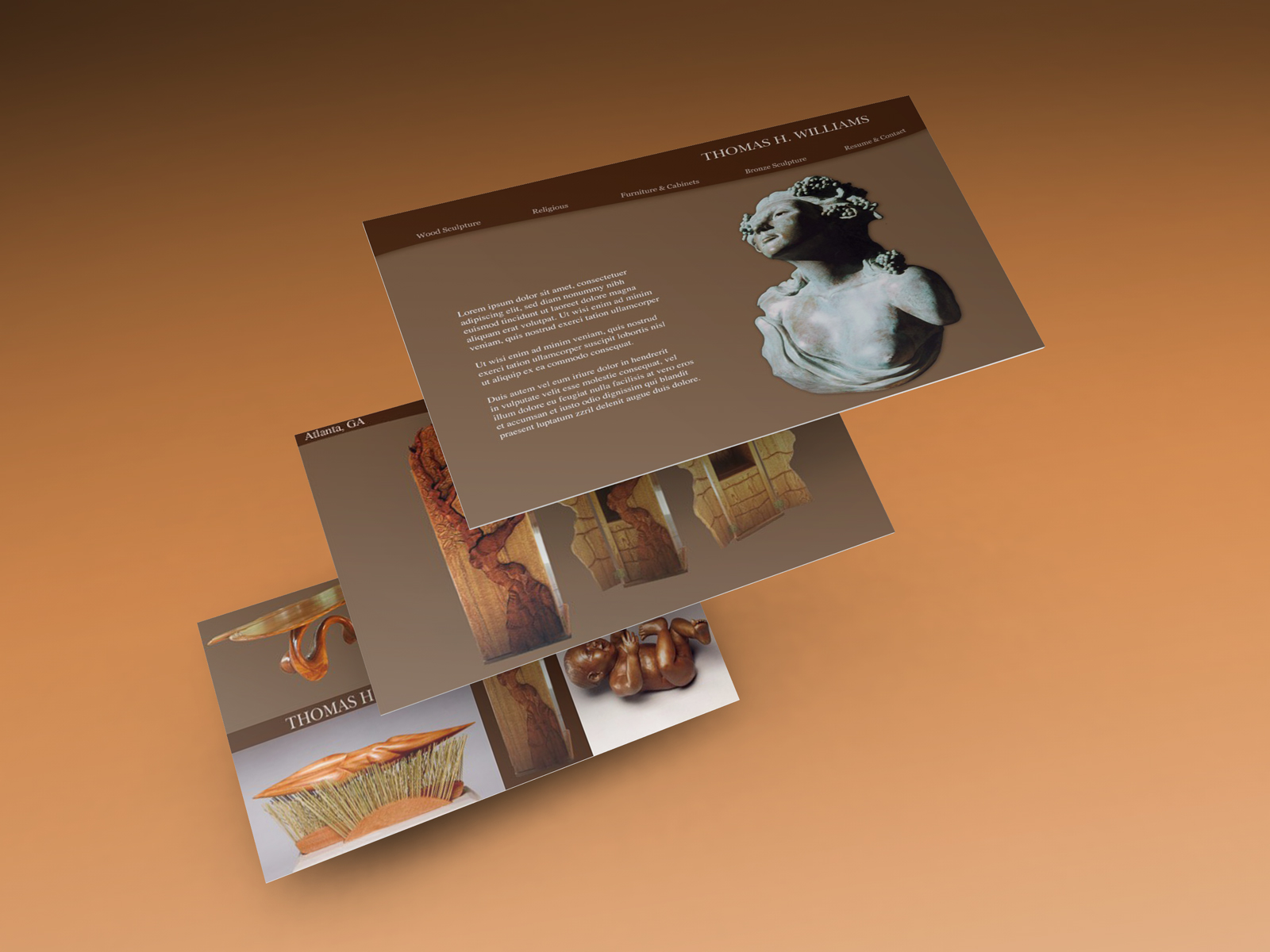 Web Design Sample Sculptor