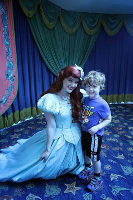 Ariel at Ariel's Grotto in Disney's California Adventure