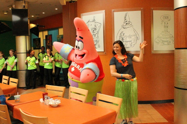 Character Dining at the Nick Hotel Orlando Florida