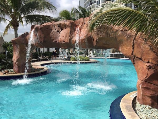 Grotto Pool at Trump Miami