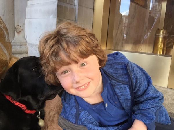 Carly Copley Dog Ambassador Fairmont Copley